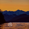 Prince William Sound at Sunset.<br /> COPYRIGHT NORTHERN SOURCE IMAGES © 2012